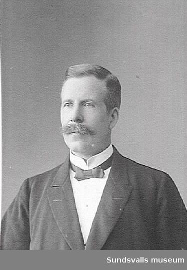 J. Jonsson, lärare på Skönsbergs skola, 1911.