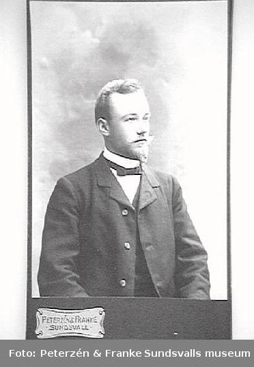 O. Rödén, lärare på Gärde skola, 1911.