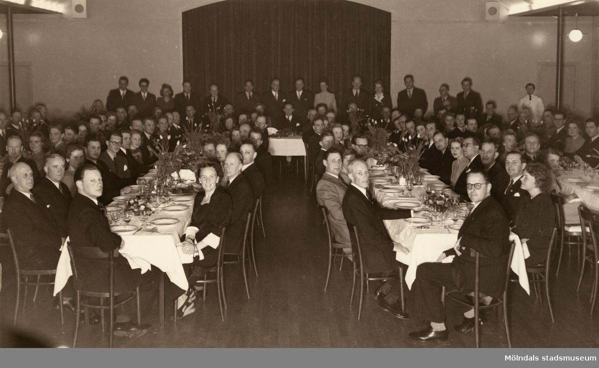 Fest på Papyrus, 1935.