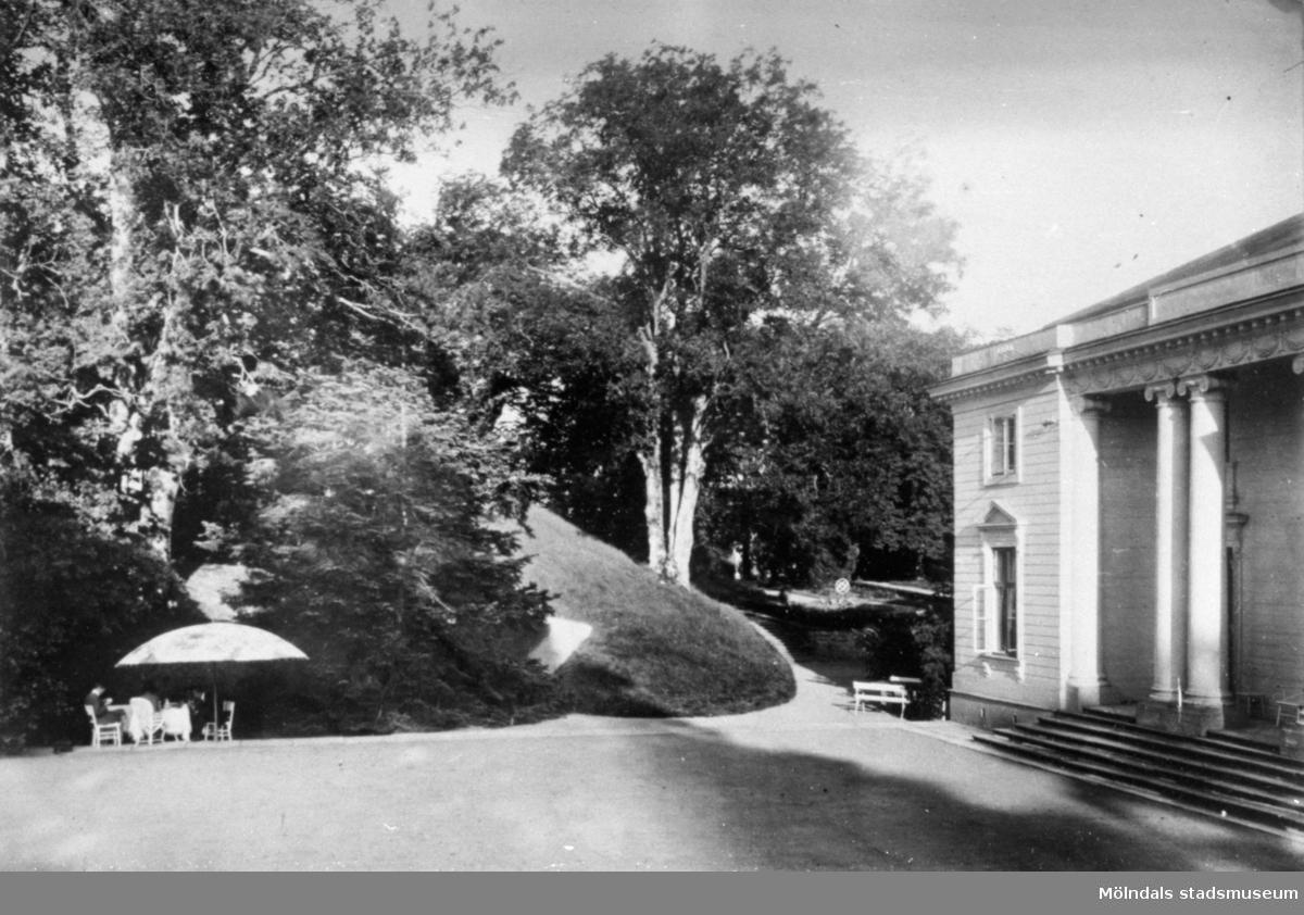 Exteriör Gunnebo slott cirka 1910.