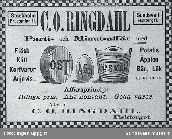 C O Ringdahl