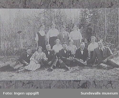 Reprofotografering ur Selångers Hembygd- förenings fotografisamling.