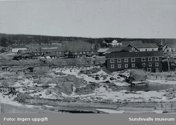 Vattensågen i Matfors 1892 (enligt anteckning).