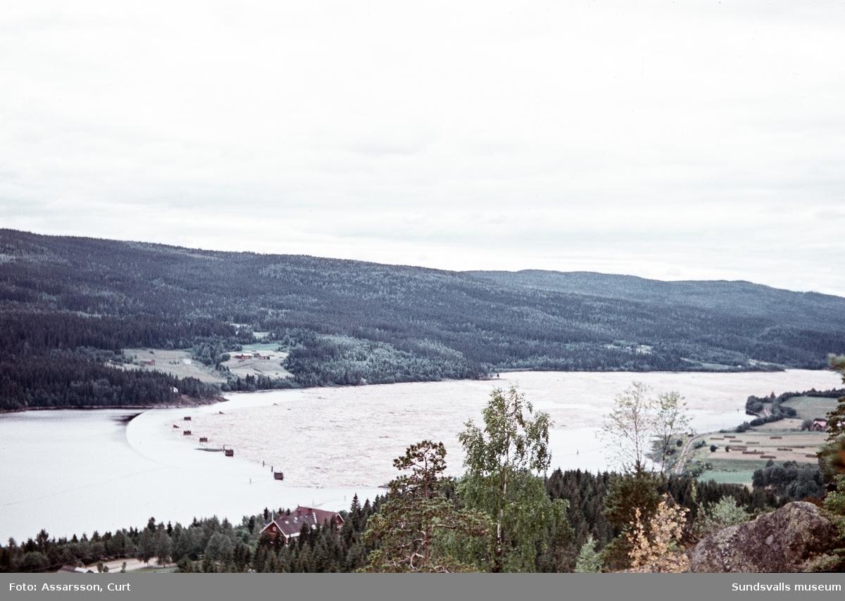 Vyer från Borrberget i Nedansjö.