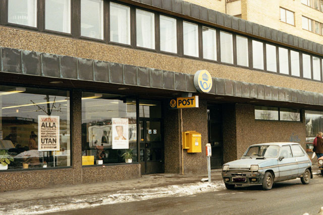 Postkontoret 400 20 Göteborg Mölndalsvägen 21