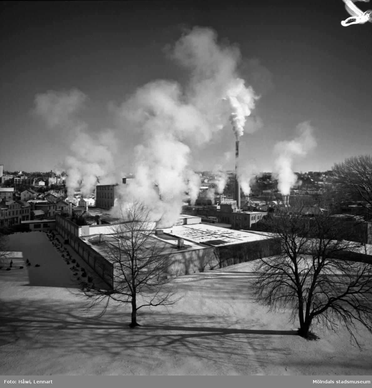Byggnad nr 6 på Papyrus i Mölndal, 1/2 1960.