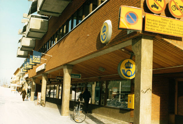 Postkontoret 811 20 Sandviken Hyttgatan 18