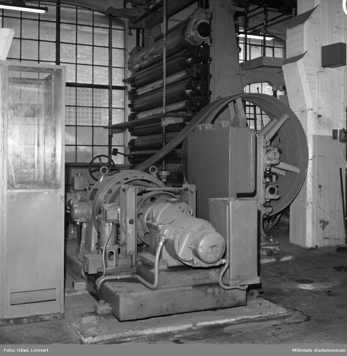 Glätt nr 11 på Papyrus i Mölndal, 27/4 1965.