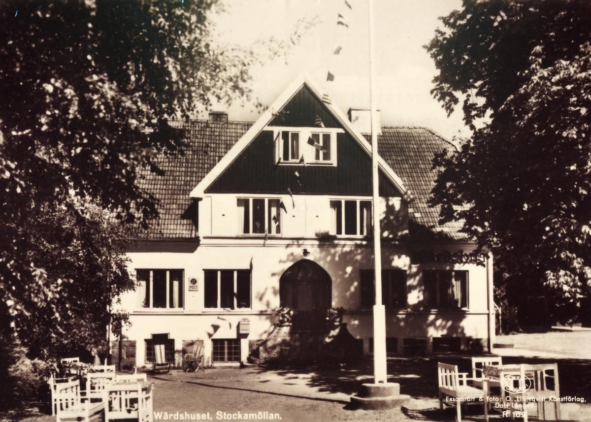 Poststationen Stockamöllan inrättad den 1 december 1909 och indragen den 31 augusti 1962.