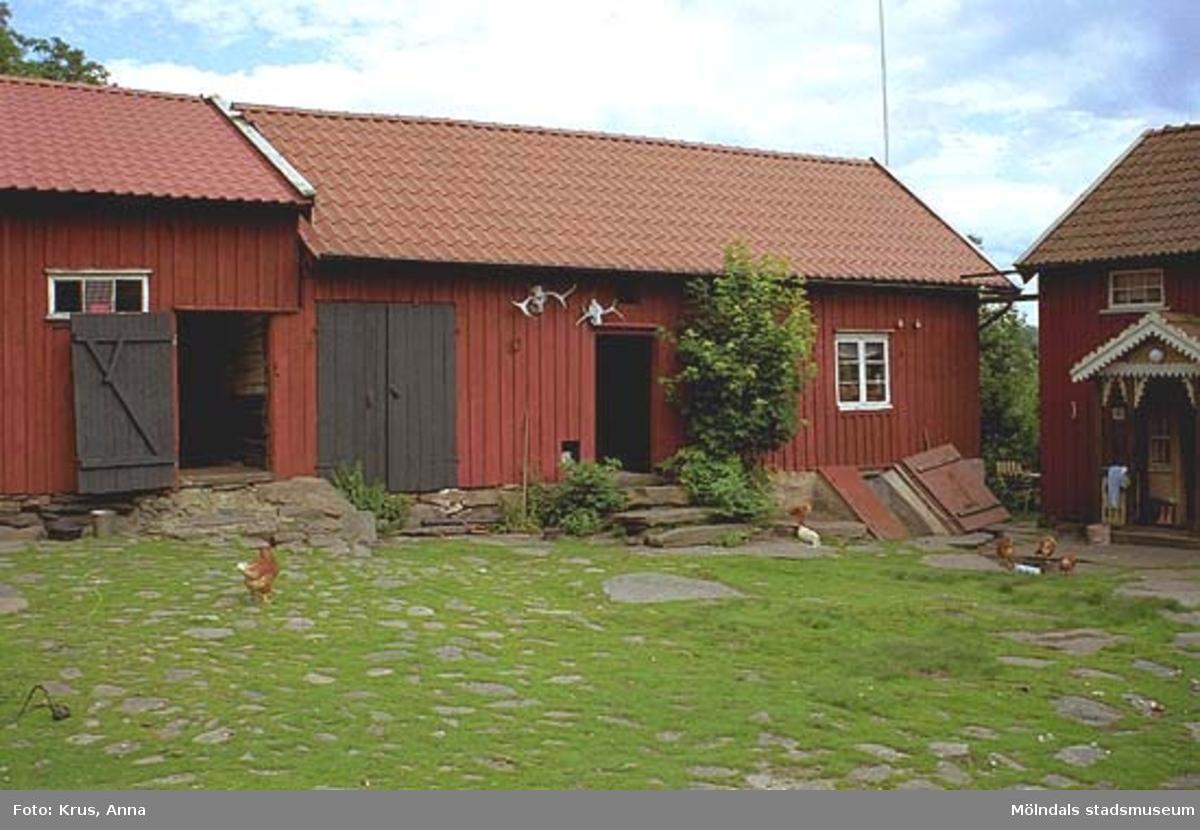 Ranntorp 2:2. Innergård med snickeri sett från väster.