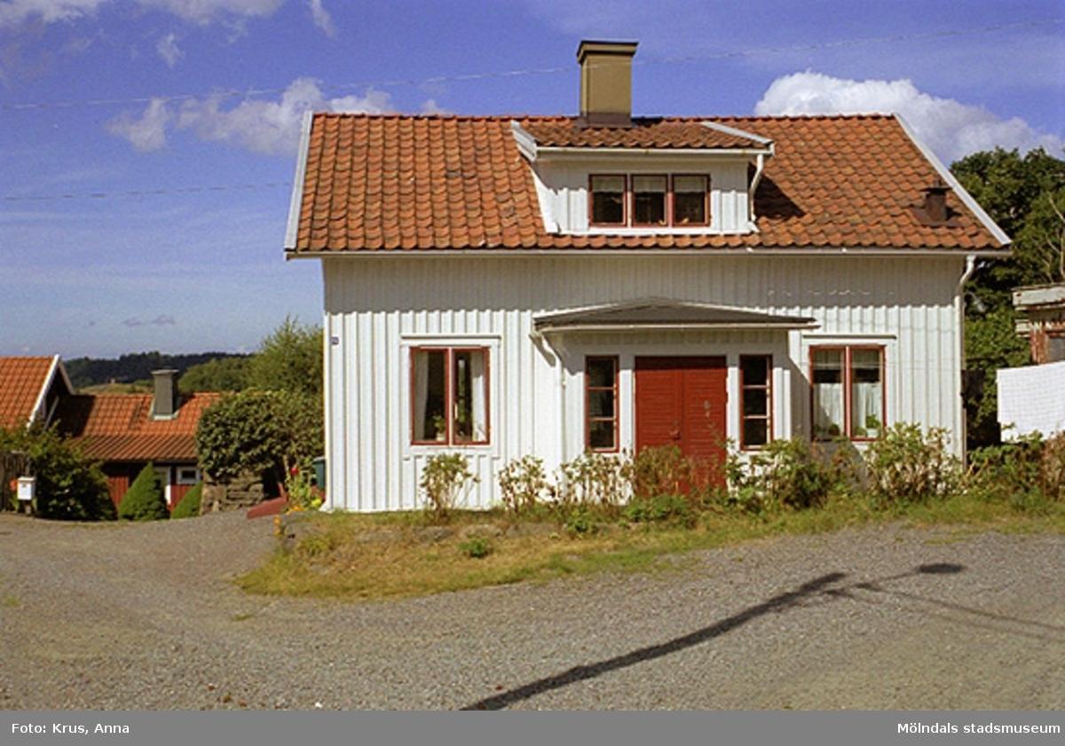 Ett typiskt hus i Kvarnbyn.