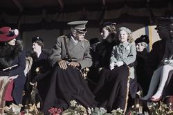 Kronprinsessan Louise, kung Gustav V, prinsessan Sibylla med