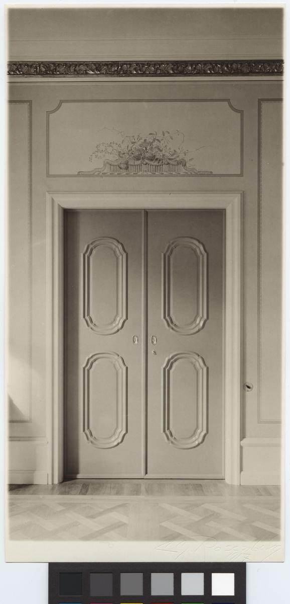 Villa Philipson Interiör dörr