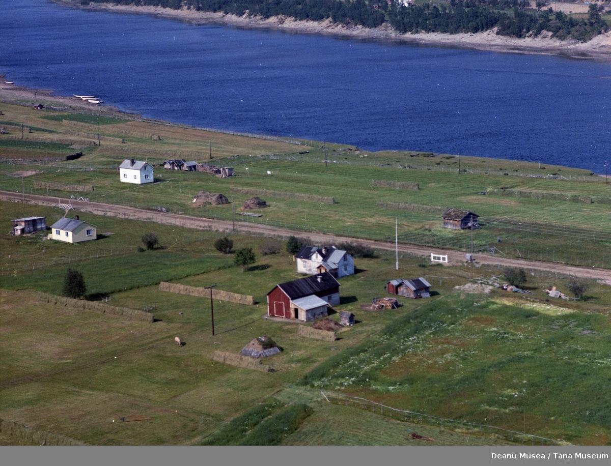 Fjellanger Widerøe flyfoto, Tana Kommune.