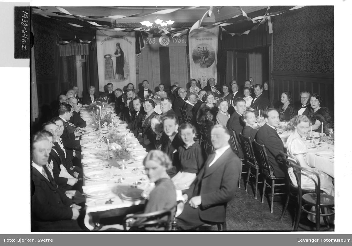 Levanger Håndverkerforenings 75 års jubileum I