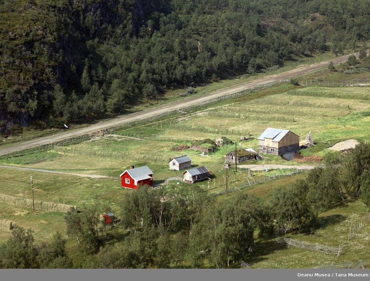 Fjellanger Widerøe flyfoto, Tana Kommune