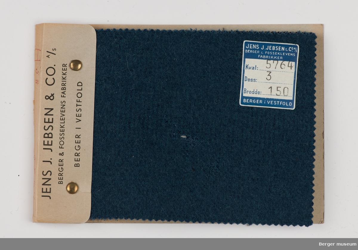 Prøvehefte med 5 prøver Melert Kvalitet 5762 Kåpe, bekledning