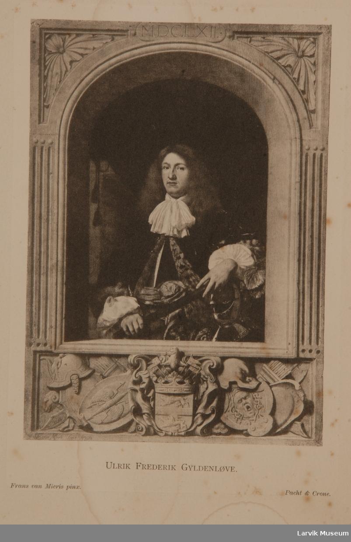 Ulrik Fredrik Gyldenløve Portrett