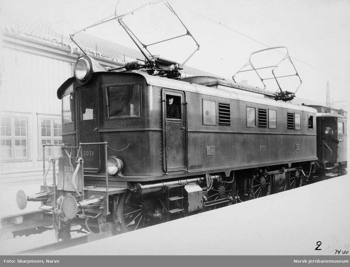 Elektrisk lokomotiv El 5 nr. 2038