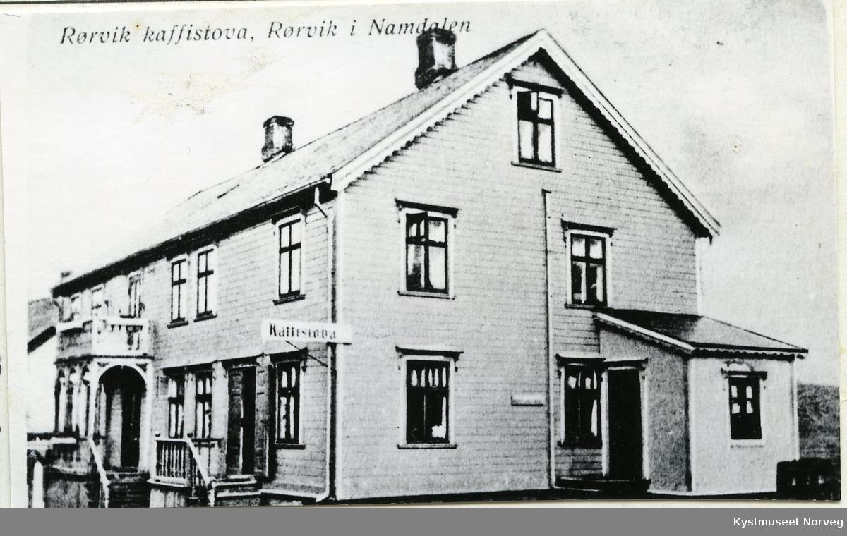 """Rørvik, """"Kaffistova"""""""