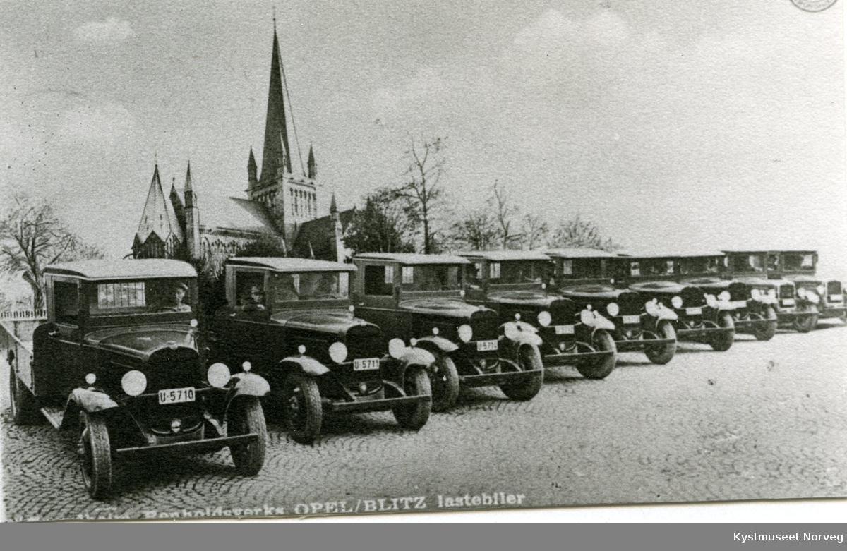 Trondheim Renholdsverks Opel/Blitz lastebiler