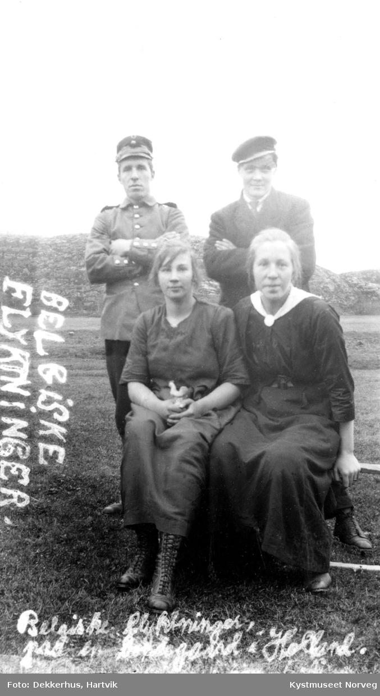 Olda Henrikke Moen Edvardsen, Agnes Dekkerhus, Hartvik Dekkerhus  og Aksel Hasfjord