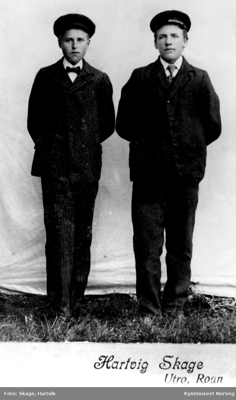 Fra venstre: Ottar Pettersen og Ottar Larsen