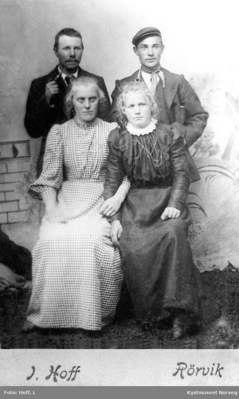 Paul Borgan og Astrid Storsul Borgan, Gustav Horseng og Petrine Vikdal Horseng