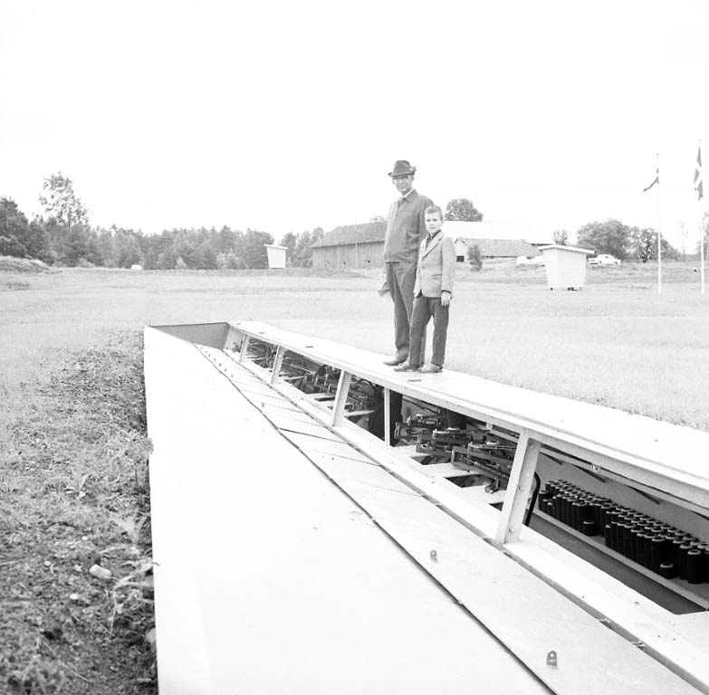 Invigning av skyttebanan