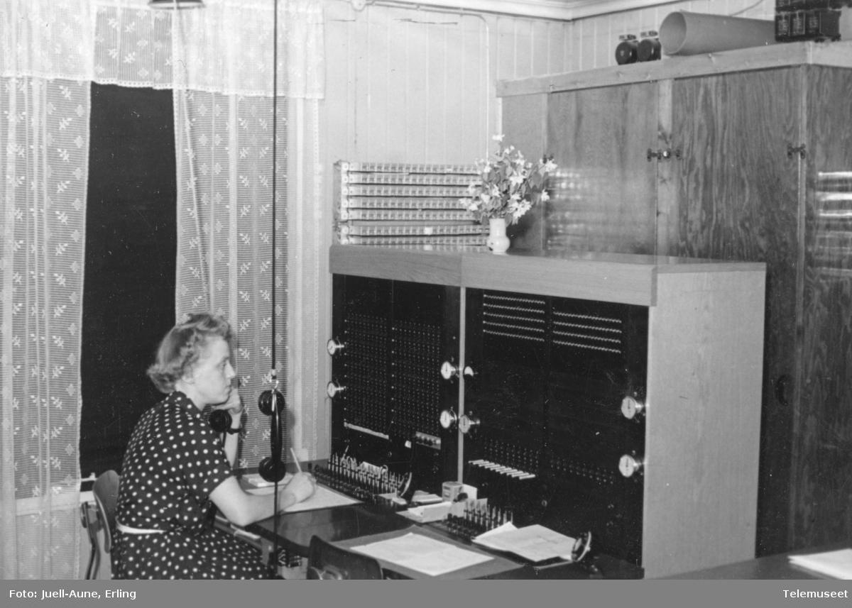 Tretten rikstelefonstasjon Lillehammer kontrollkrets
