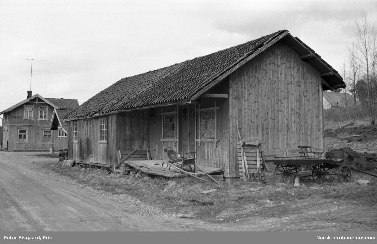 Godshus på Hemnes stasjon