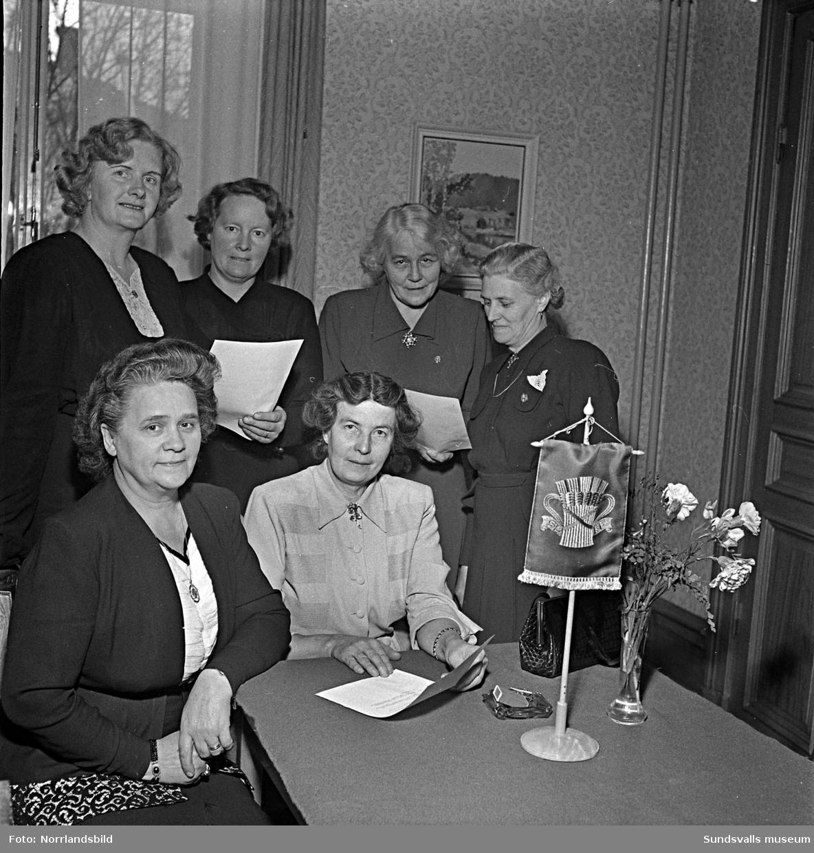 Jäktet var ämnet på denna konferens med Medelpads SLKF-kvinnor, Svenska Landsbygdens Kvinnoförbund (Centerkvinnorna).
