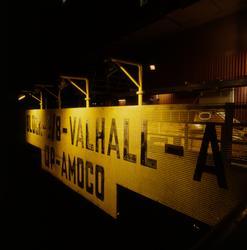 Boligplattformen QP på Valhall-feltet. Stemning i nattemørke