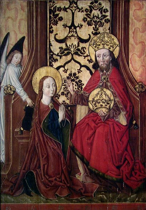 Marias kroning [Maleri]