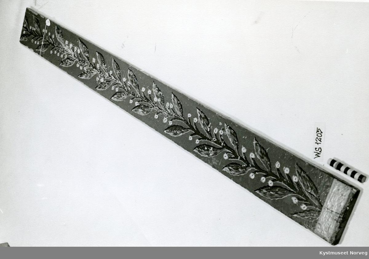Stengel med blad, bladranke