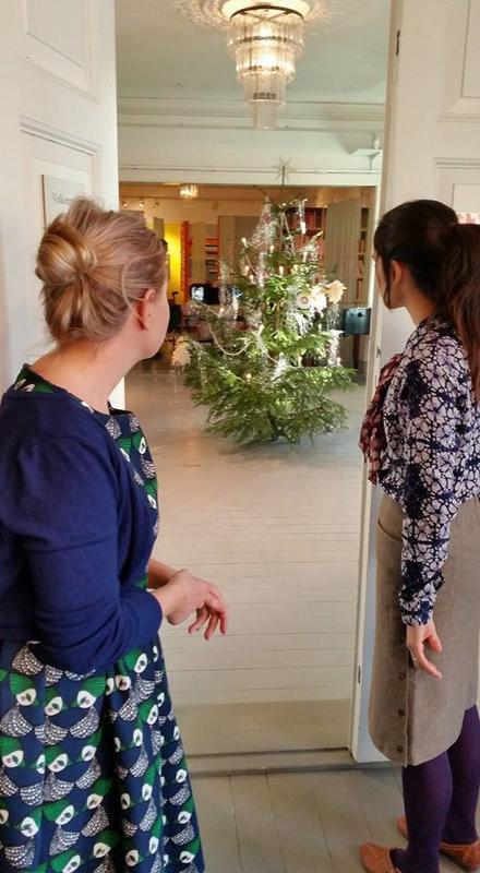 Juletre på Kvinnemuseet (Foto/Photo)