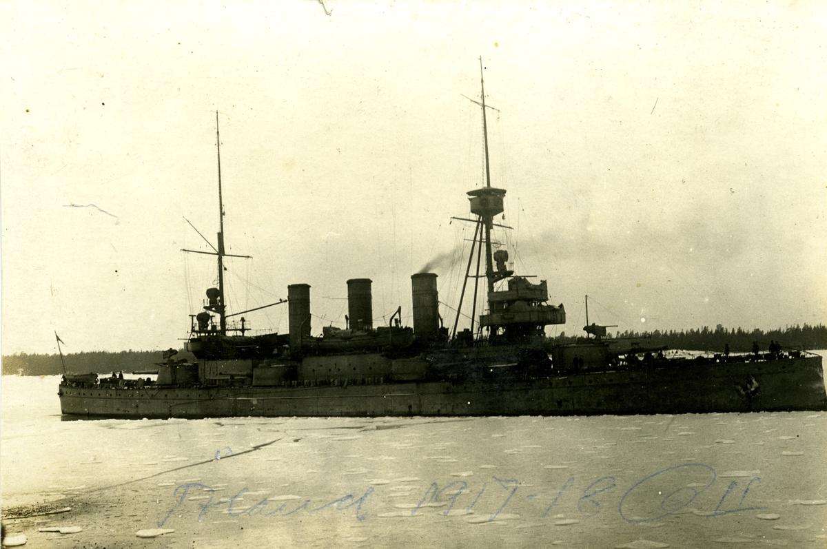 Fartyget Oscar II på Åland 1917-18