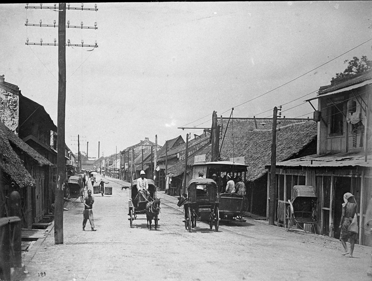 Kina eller Thailand, gatebilde