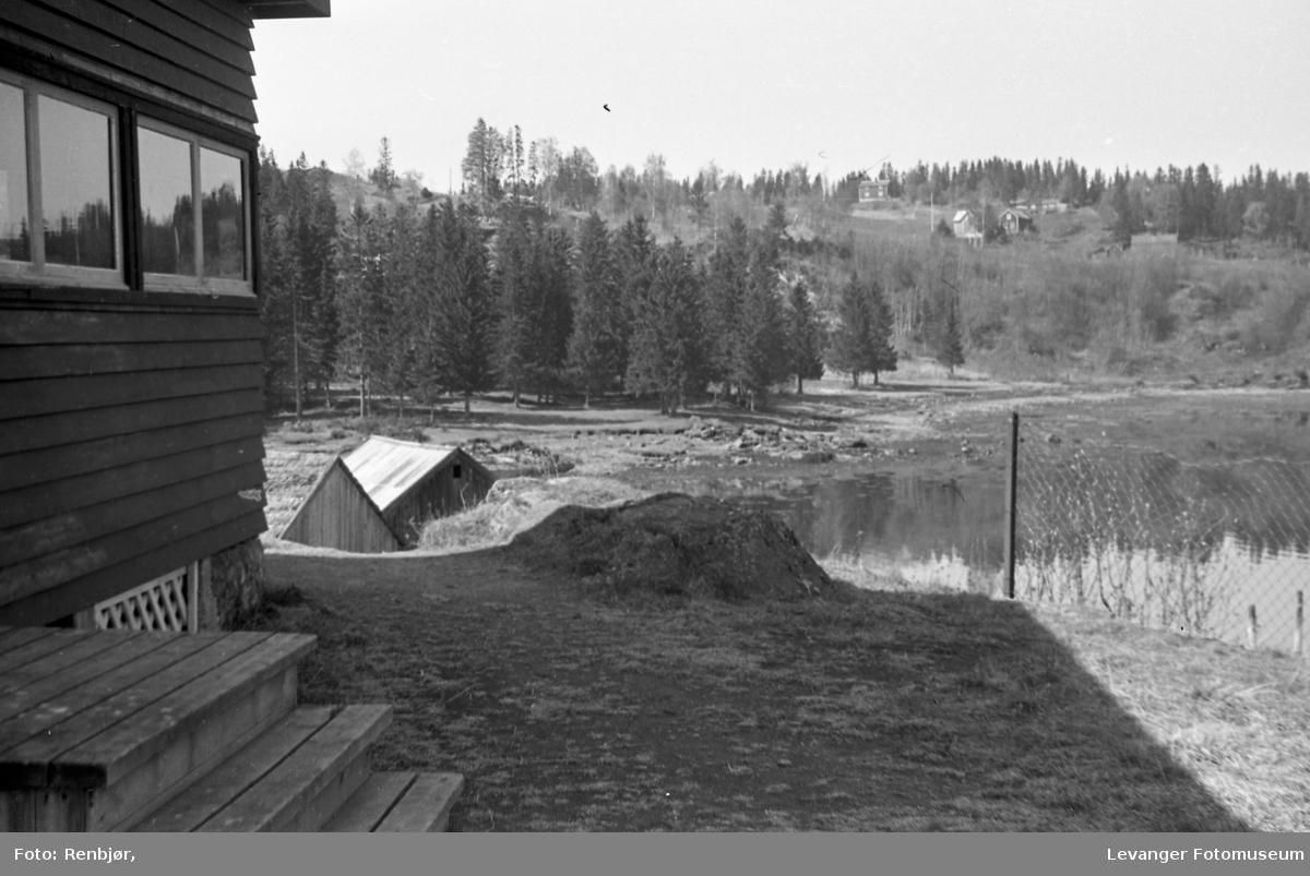 Fra Sjøbadet, Levanger.