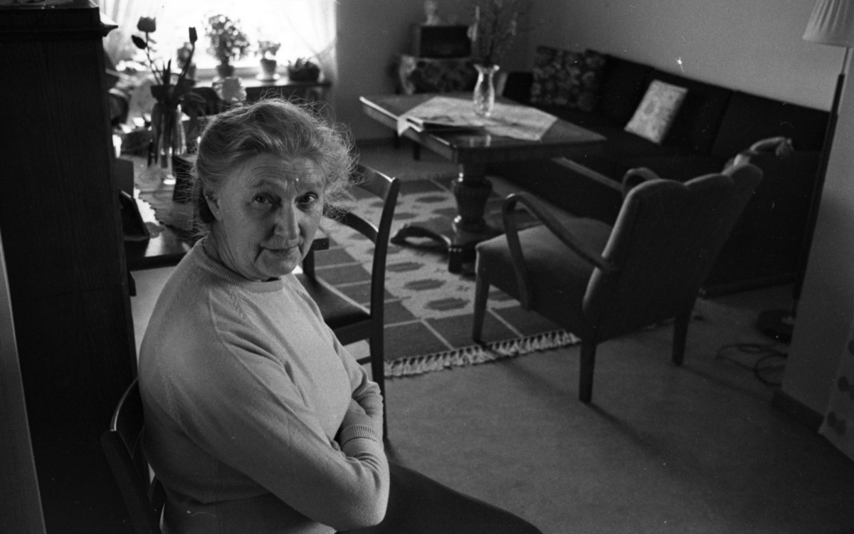 Pens, bostad 12 april 1965