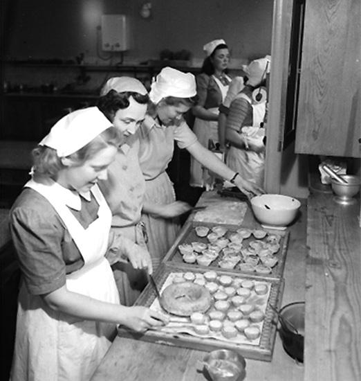 Yrkesskolan, interiör, matlagning.