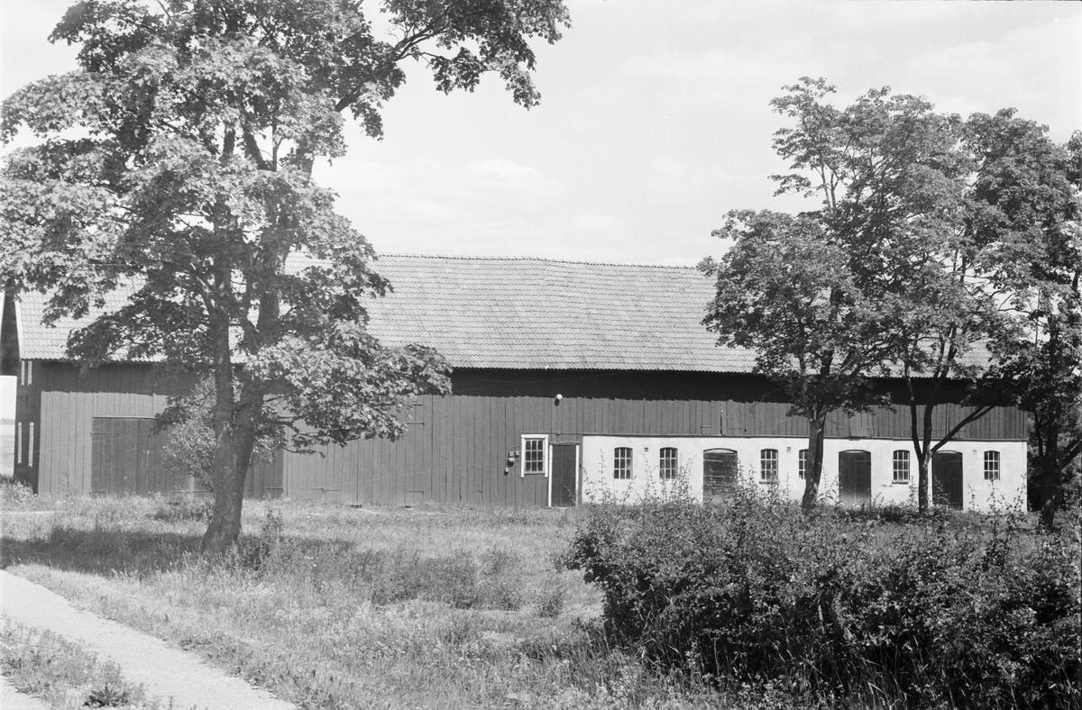 Ladugård och lada, Dragby 4:1, Skuttunge socken, Uppland 1976