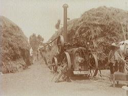 Ångmaskin i jordbruket