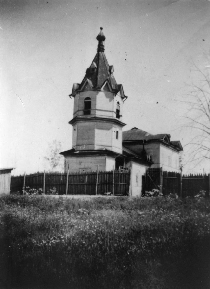 Syväri-området, kyrkan.