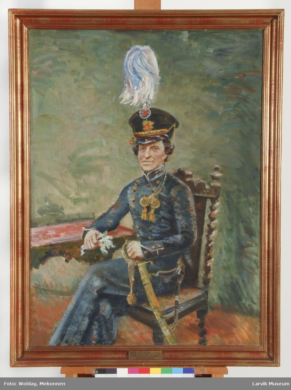 Portrett Bertel Otto Steen 1812-1882
