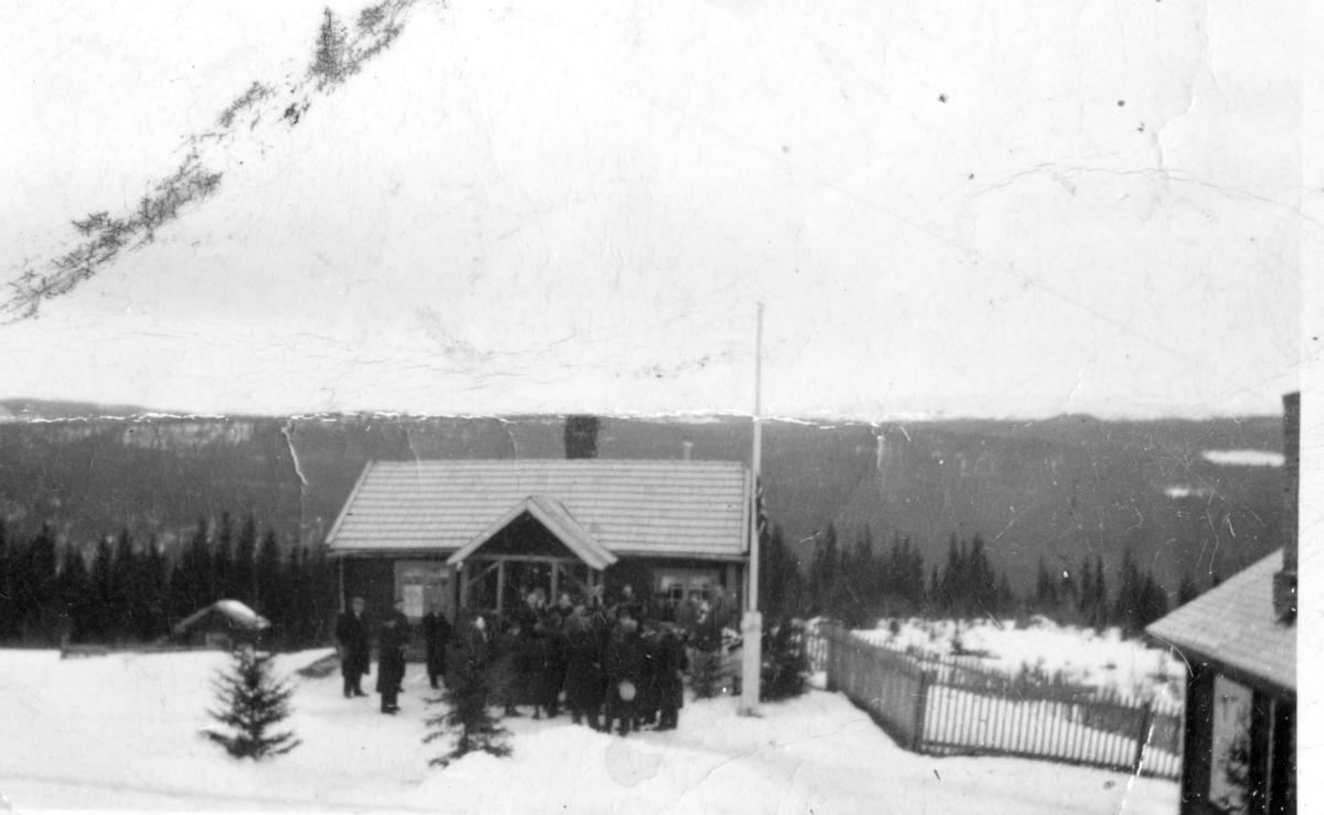Gravferden til Herbrand Knutson Brennhovd, 1941