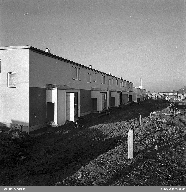 Riksbyggen bygger kedjehus vid Rubinvägen i Sidsjö.