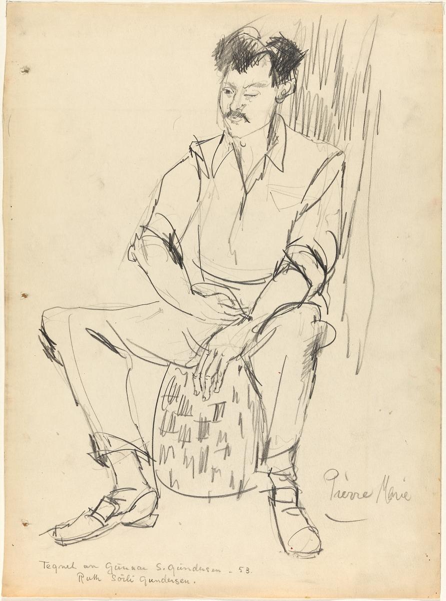 Pierre Marie [Tegning]