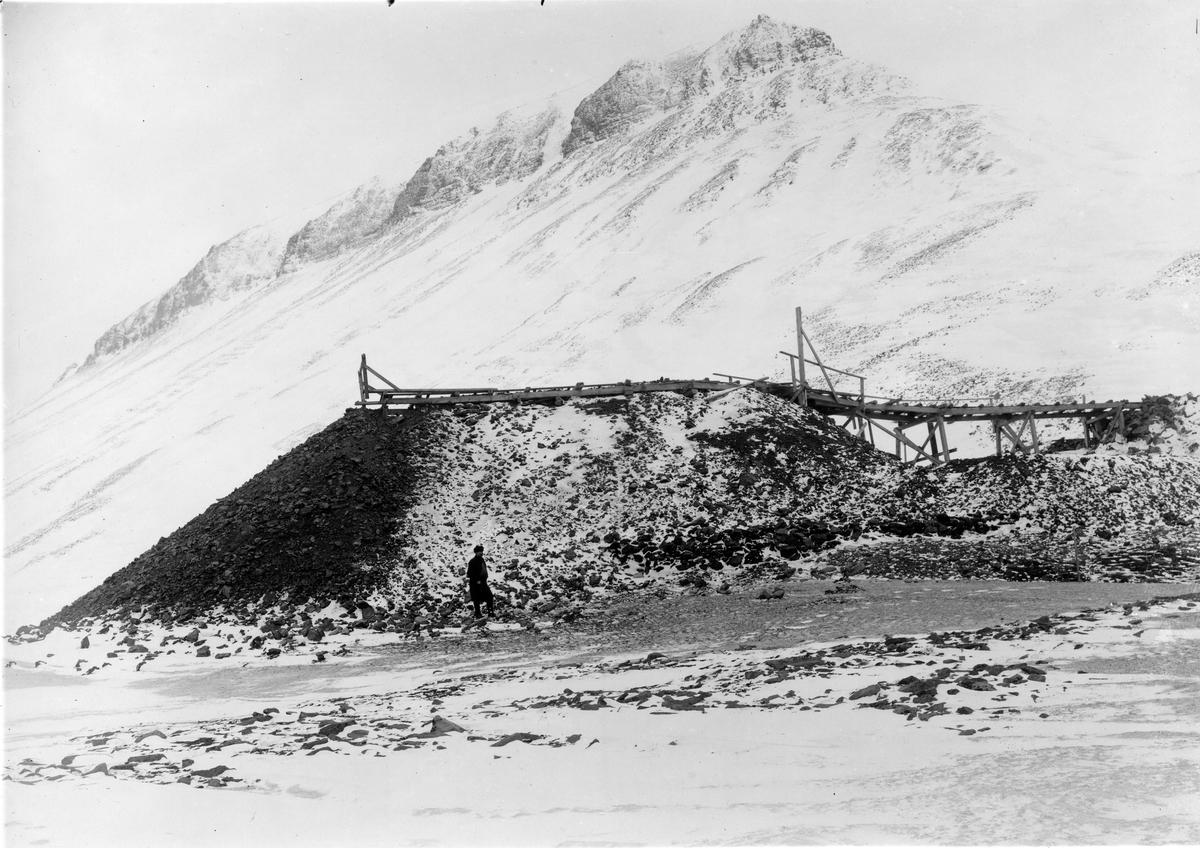 Sveagruvan. Kolupplaget våren 1918.