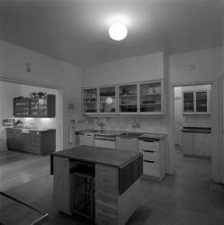 Disponent Modins villa i Granlohög. Interiörbilder från kök
